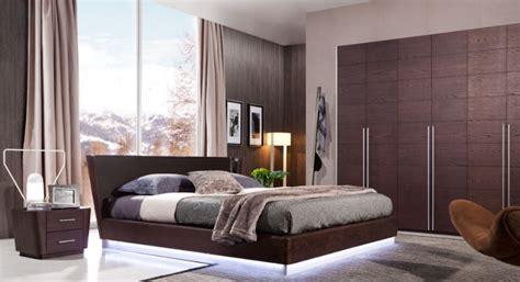 41247 modern wood bedroom sets modern wooden bedroom furniture set equipped with led