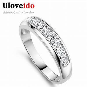 aliexpresscom buy uloveido wedding band rings for women With wedding rings for women 2017