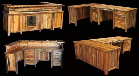 rustic wood office desk interior rustic office furniture tedxumkc decoration