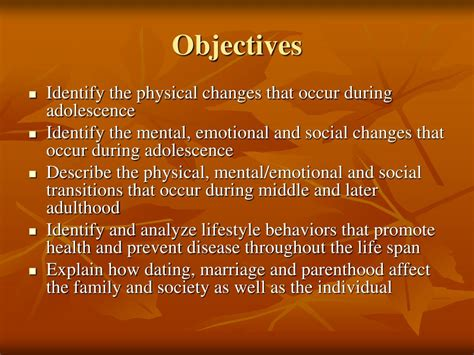 Ppt Life Cycle Adolescence Into Adulthood Powerpoint