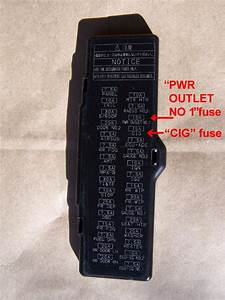 Fuse For Power Outlets - Clublexus