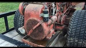 New Gravely 812 Engine Diagnosis 12hp Kohler K301