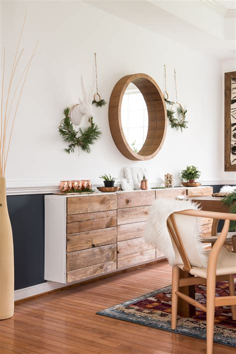 simple dining room christmas decor place of my taste