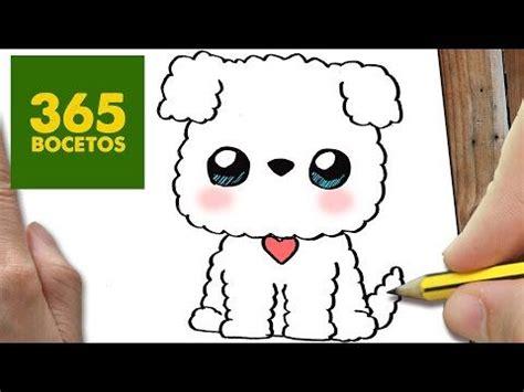 como dibujar perro whatsapp kawaii paso  paso dibujos kawaii faciles   stich love