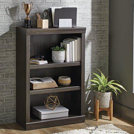 Oak Finish Bookcase by Better Homes Gardens Glendale 3 Shelf Bookcase Oak