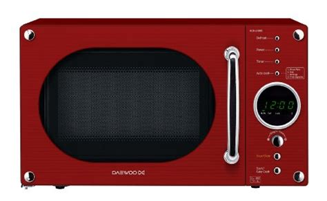daewoo kornrr red touch control microwave