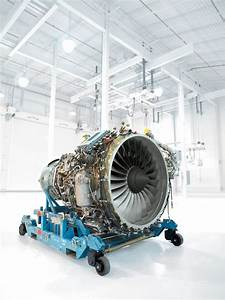 Cf34 Aircraft Engine In Peebles  Oh