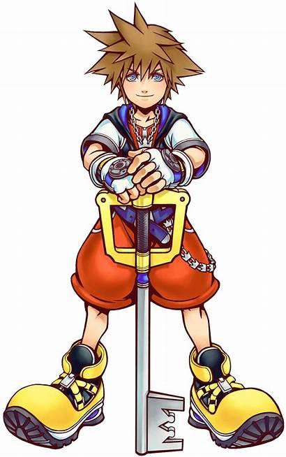 Hearts Kingdom Sora Kh Clipart Transparent Anime