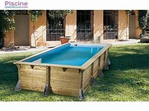 Piscine Bois Ubbink : piscine bois ubbink azura 5 05 x 3 50m ~ Mglfilm.com Idées de Décoration