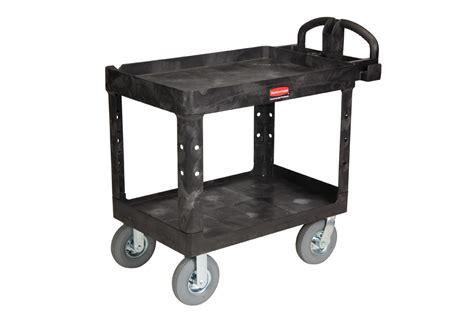 rubbermaid   utility cart pneumatic wheels