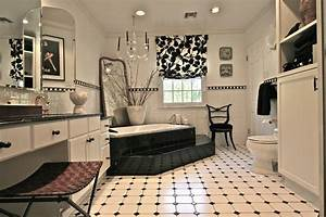 Black and white bathroom contemporary bathroom new for Houzz black and white bathroom