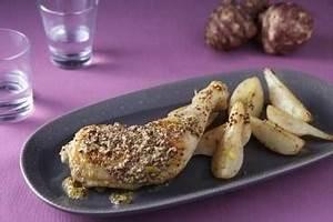 Cuisse De Poulet A La Poele : recette de cuisse de poulet farcie au ch vre frais facile ~ Mglfilm.com Idées de Décoration