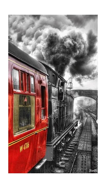 Train Steam Trains Trem Tren Tracks Railway