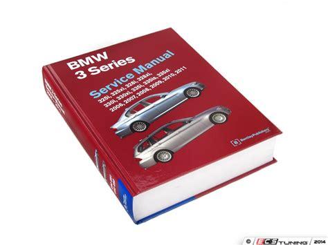Bmw E9x 3 Series Bentley Service Manual