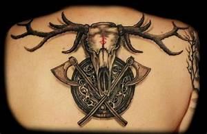 Dessin Symbole Viking : quelle est la signification des tatouages vikings ~ Nature-et-papiers.com Idées de Décoration