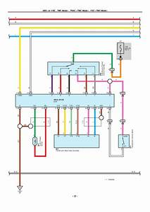 Toyota Noah 2009 User Wiring Diagram
