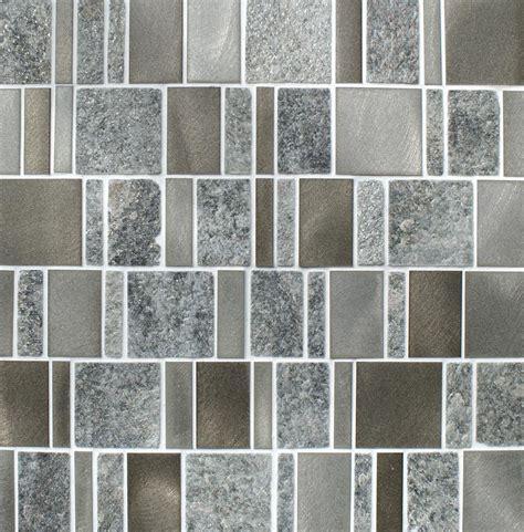 heritage rectangular grey mosaic tiles mosaic village