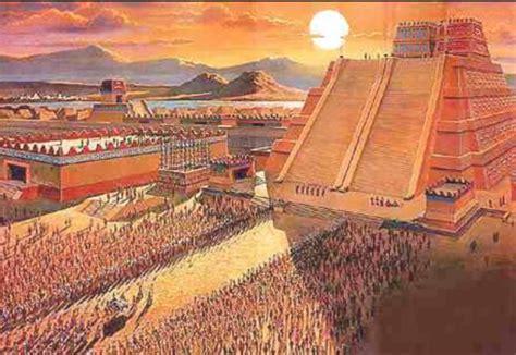 timeline   ancient aztec empire timetoast timelines