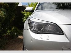 Difference from E60 NonLCI to LCI Headlights 5Series