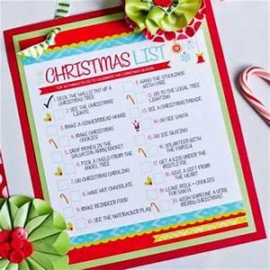 Christmas To Do List Free Printable}