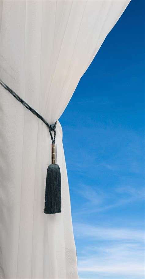 bullet tassel tie back luxury cord curtain hold backs all