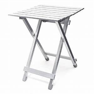 Table De Camping Pliante : relaxdays table pliante aluminium table d 39 appoint jardin ~ Dailycaller-alerts.com Idées de Décoration