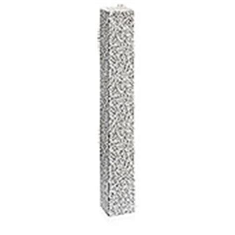 Granitpalisade G 603 (grau, 12 X 12 X 180 Cm, Geflammt