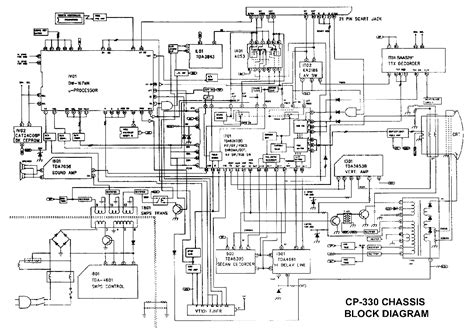 Daewoo Cp330 Chassis Service Manual Download, Schematics