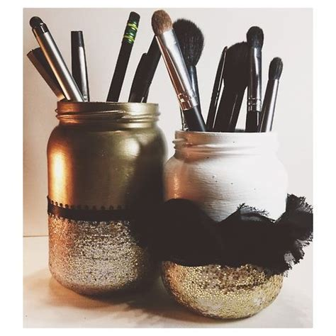 Diy Makeup Brush Holder Makeup Organization And Vanities