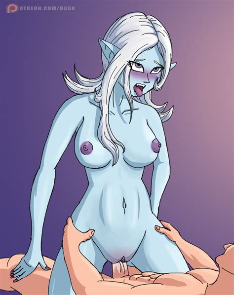 Rule Blue Skin Blush Cowgirl Position Demon Girl