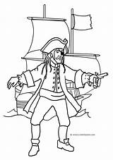 Pirate Coloring Ship Pages Treasure Drawing Chest Line Pirates Cartoon Drawings Open Getdrawings Funny Clipartqueen Revolver sketch template