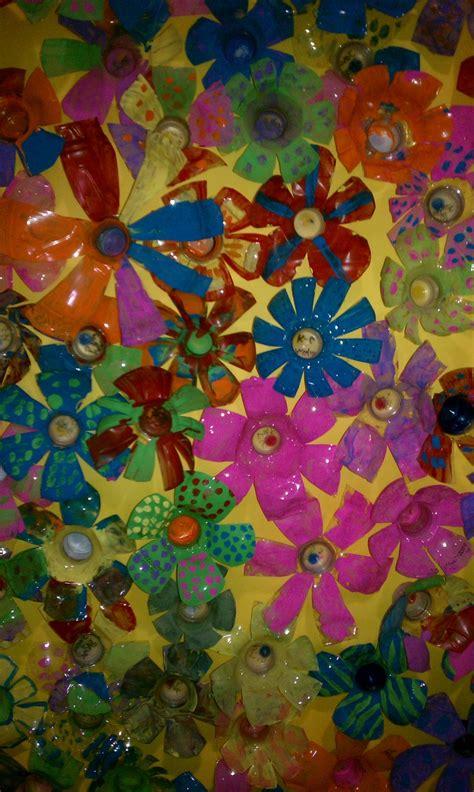 platic bloemen 25 beste idee 235 n over plastic flessen kunst op pinterest