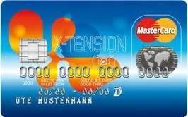 Mastercard X Tension : mastercard x tension f rde sparkasse ~ Eleganceandgraceweddings.com Haus und Dekorationen