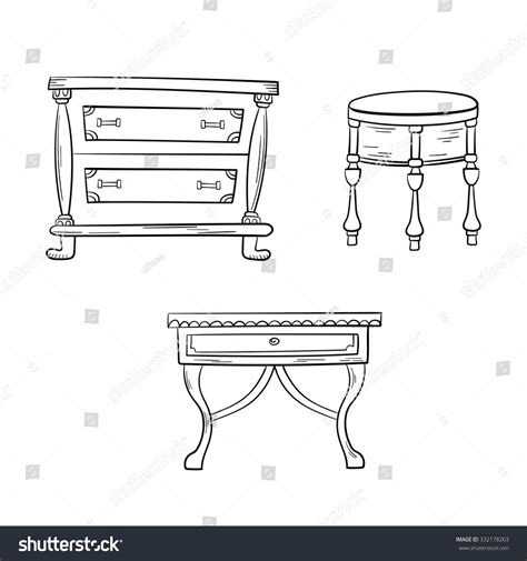 antique furniture drawings pictures to pin on