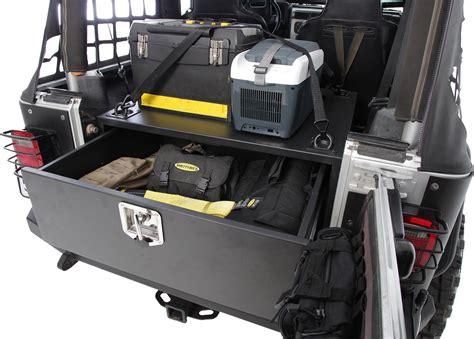 Smittybilt 2761 Security Storage Vault For 87 06 Jeep