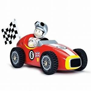 Pilote De Voiture : voiture et pilote de course en bois le toy van jouet en bois v hicule circuit f1 ~ Medecine-chirurgie-esthetiques.com Avis de Voitures