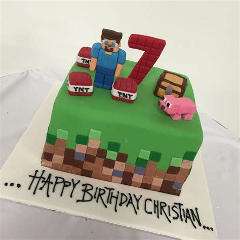 Minecraft Birthday Cake  Three Sweeties