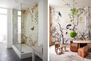 Papier Peint Deco Nature by Papier Peint Oiseaux Et Fleurs