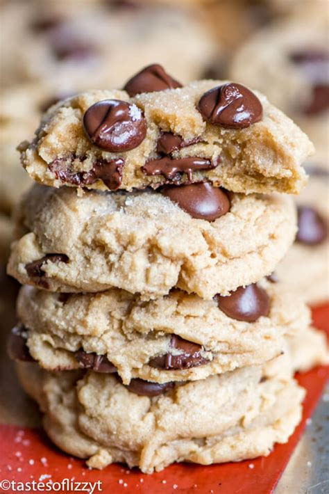 peanut butter chocolate chip cookie recipe soft  chewy