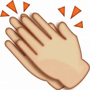 Download Clapping Hands Emoji Icon | Emoji Island