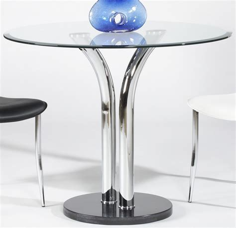 36 inch dining table with black marble base and