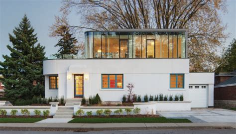Art Deco Home Style : Renovation Revives An Aging Art Deco Home