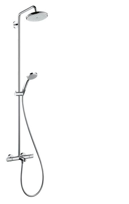 hansgrohe shower pipes croma 1 spray mode 27223000
