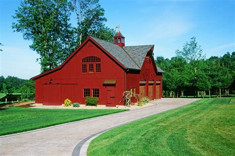 Barns And Garages by 38 X 56 Hybrid Post Beam 2 Story Carriage Barn Garage