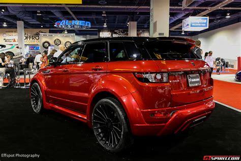 Sema 2018 Hamann Range Rover Evoque Widebody