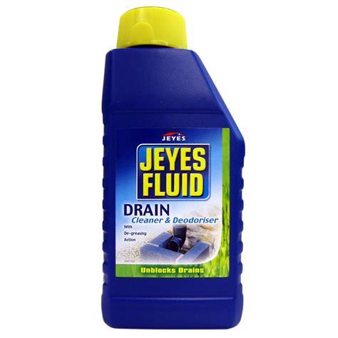 jeyes fluid drain cleaner unblocker bottle  ml