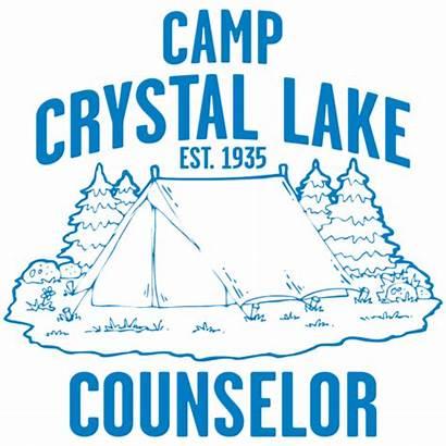 Camp Lake Crystal Counselor Clipart Shirts Halloween