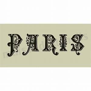 paris beautiful scroll capital letters font 55x115 stencil With scroll letter stencils