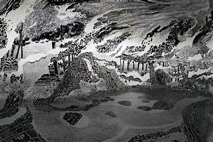 New 360 degree immersive drawing created with 120 marker for 360 degree immersive drawing by oscar oiwa