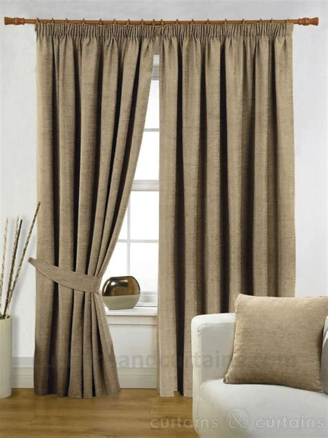 Bedroom Curtains Pencil Pleat by Bedroom Curtains Latte Heavy Luxury Pencil Pleat